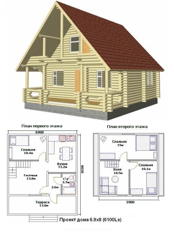 Как сделать проекты деревянных домов